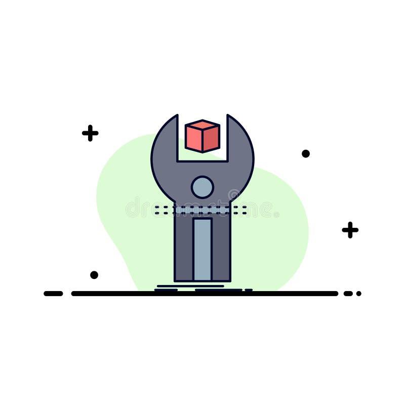 SDK, App, sviluppo, corredo, vettore piano di programmazione dell'icona di colore royalty illustrazione gratis