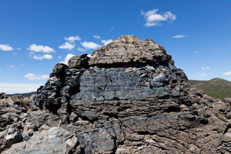 Seção transversal de Lava Flow fotografia de stock royalty free