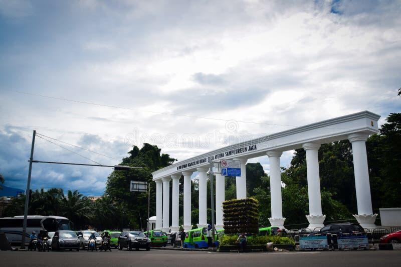 Señal de Bogor imagen de archivo libre de regalías