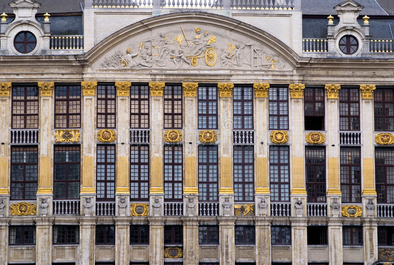 Señal de Bruselas foto de archivo libre de regalías