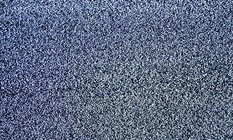 Señal de interferencia de los pixeles de la pantalla del ruido TV imagenes de archivo