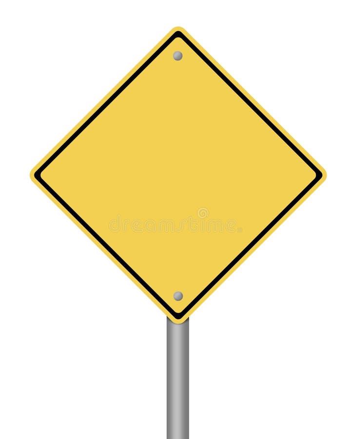 Señal de peligro ilustración del vector