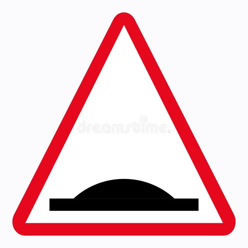 Señal de tráfico stock de ilustración