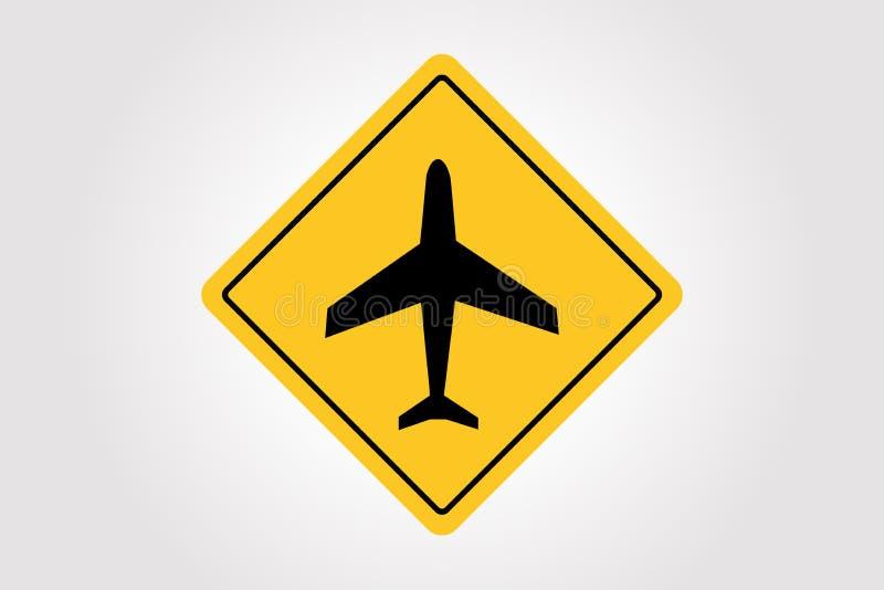 Señal de tráfico del vector, diseño del ejemplo del tráfico ilustración del vector