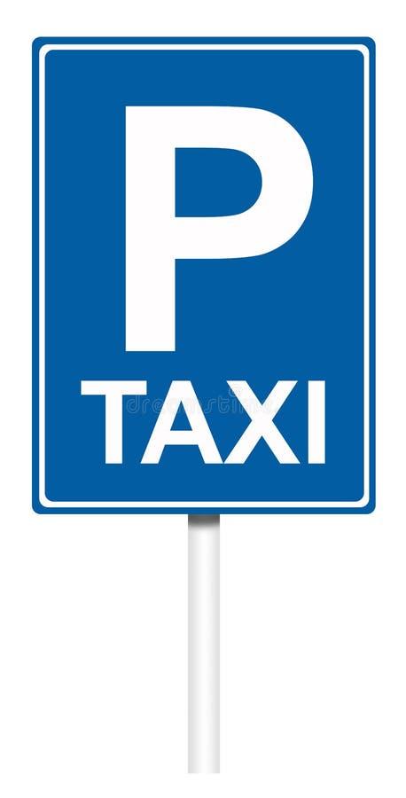 Señal de tráfico informativa - taxi libre illustration