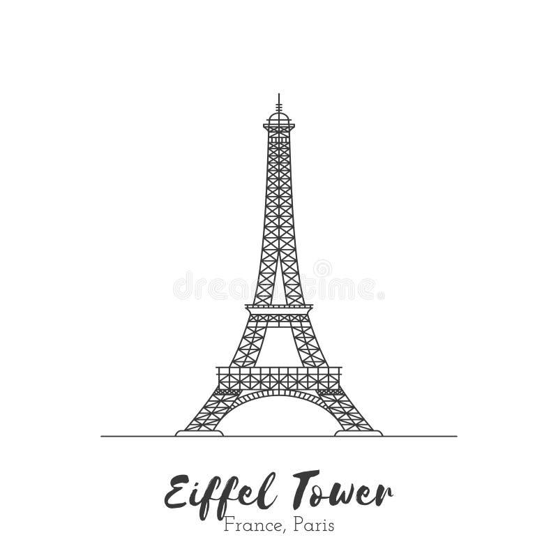 Señal europea en la línea fina ejemplo del vector stock de ilustración