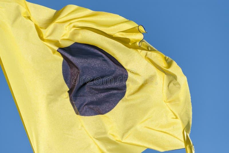 Señal marítima internacional foto de archivo libre de regalías
