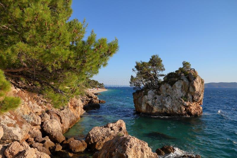Señal natural de Croacia foto de archivo