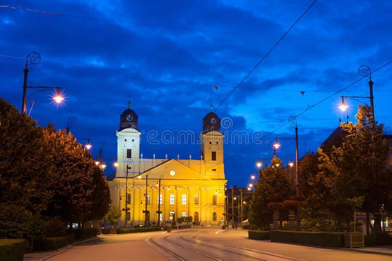 Señales de Debrecen imagen de archivo libre de regalías