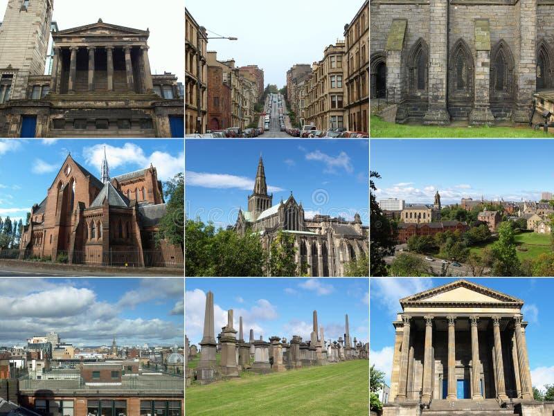 Señales de Glasgow fotos de archivo