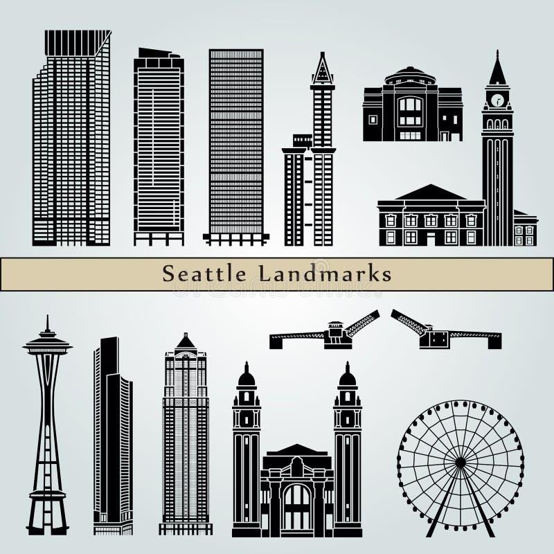 Señales de Seattle ilustración del vector