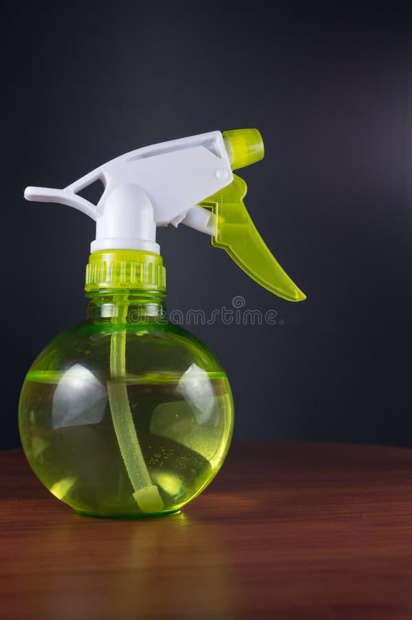 Señor Bottle del espray de agua fotos de archivo