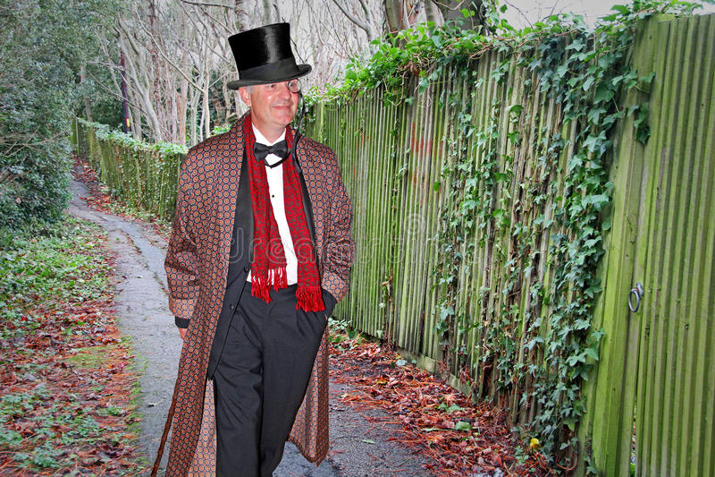 Señor de la alta sociedad del señorío fotos de archivo libres de regalías