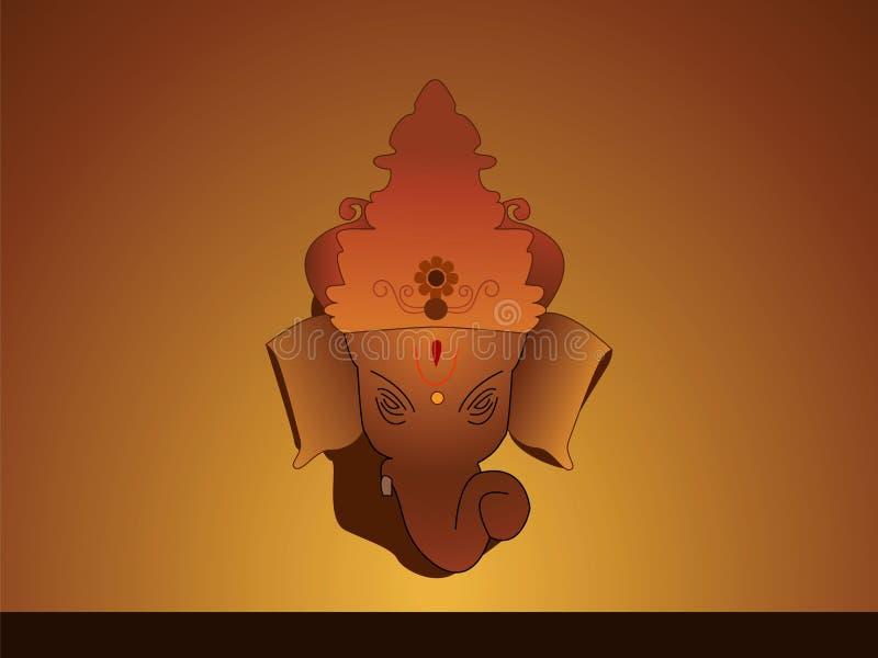 señor Ganesh stock de ilustración