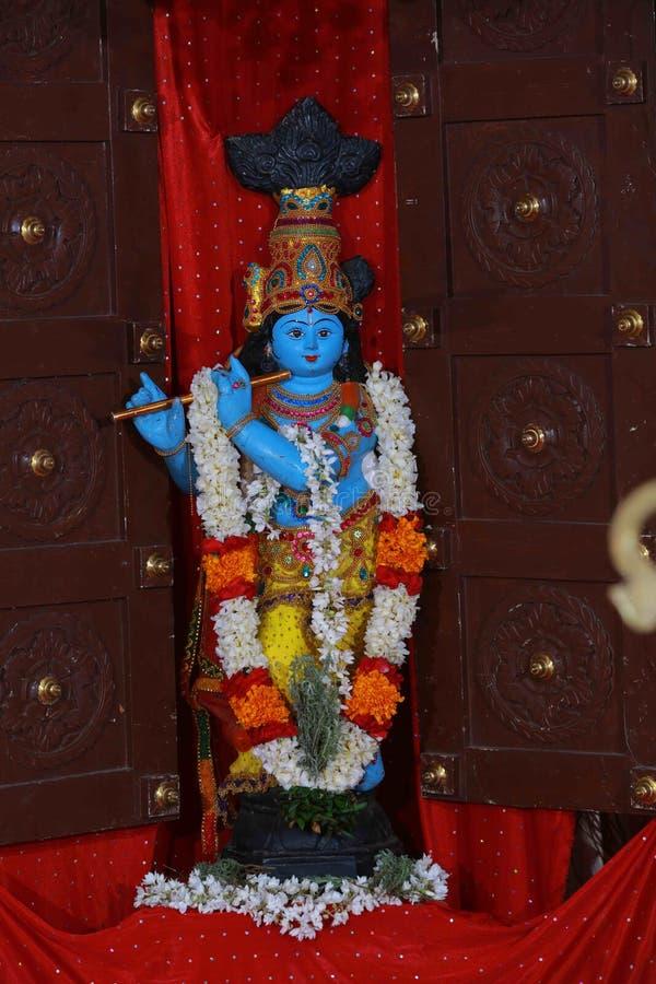 Señor Krishna fotografía de archivo libre de regalías
