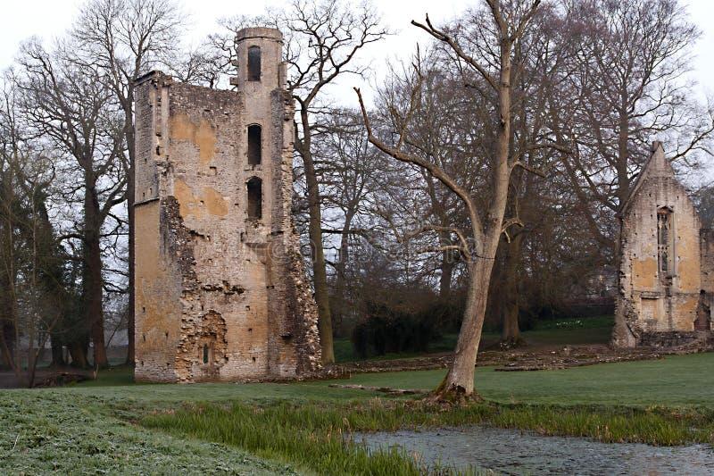 Señor Lovell Hall - la torre imagenes de archivo