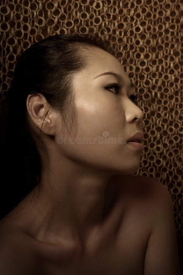 Señora asiática imagen de archivo libre de regalías