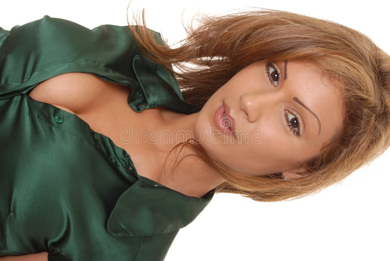 Señora atractiva 47 fotografía de archivo libre de regalías