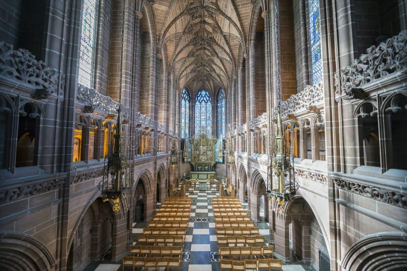 Señora Chapel de Liverpool imágenes de archivo libres de regalías