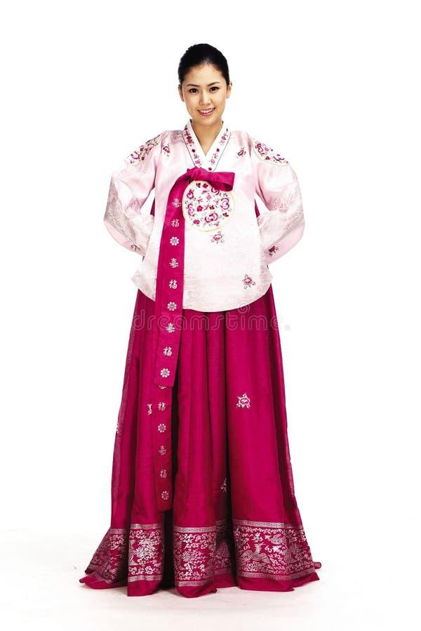 Señora coreana fotografía de archivo
