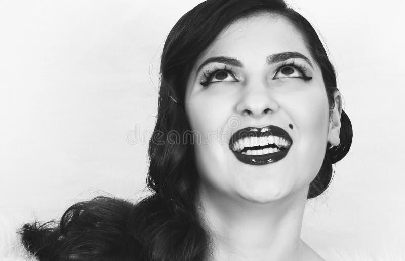 Señora de la apariencia vintage fotos de archivo libres de regalías