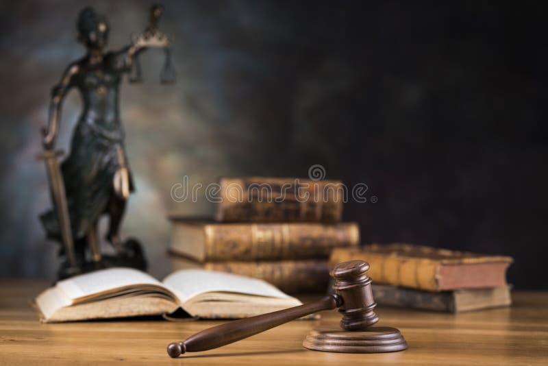 Señora de la justicia, del concepto de la ley y de la justicia fotografía de archivo