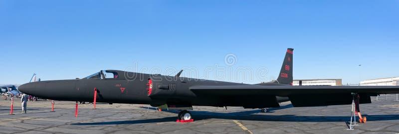 Señora del dragón de Lockheed Martin U-2 fotografía de archivo libre de regalías