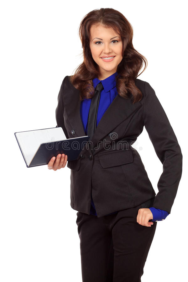 Señora del negocio fotografía de archivo libre de regalías
