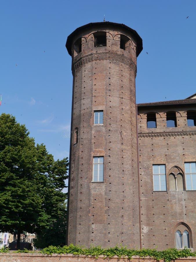 Señora del palacio en Turín en Italia fotografía de archivo libre de regalías