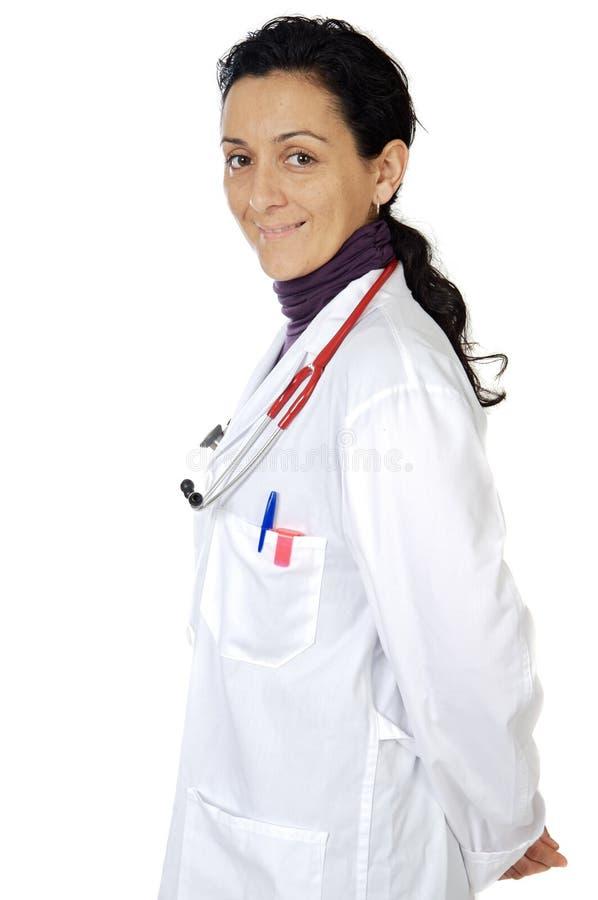 Señora doctor foto de archivo