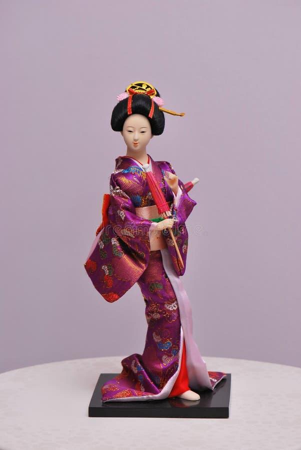 Señora Doll de Japón fotografía de archivo libre de regalías