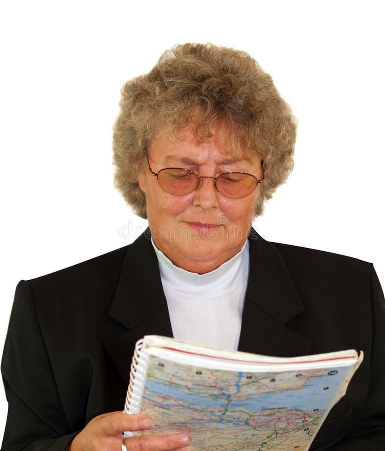 Señora Driver fotografía de archivo libre de regalías