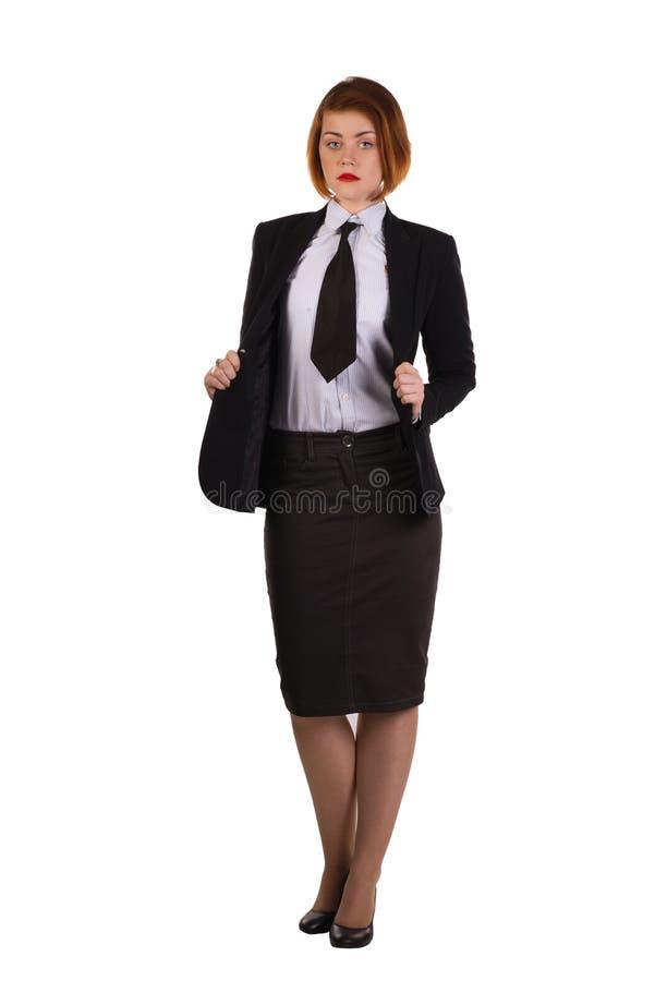 Señora en negro foto de archivo libre de regalías