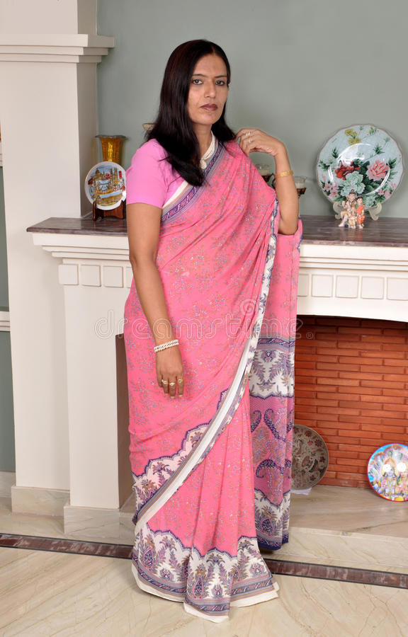 Señora india atractiva fotos de archivo libres de regalías