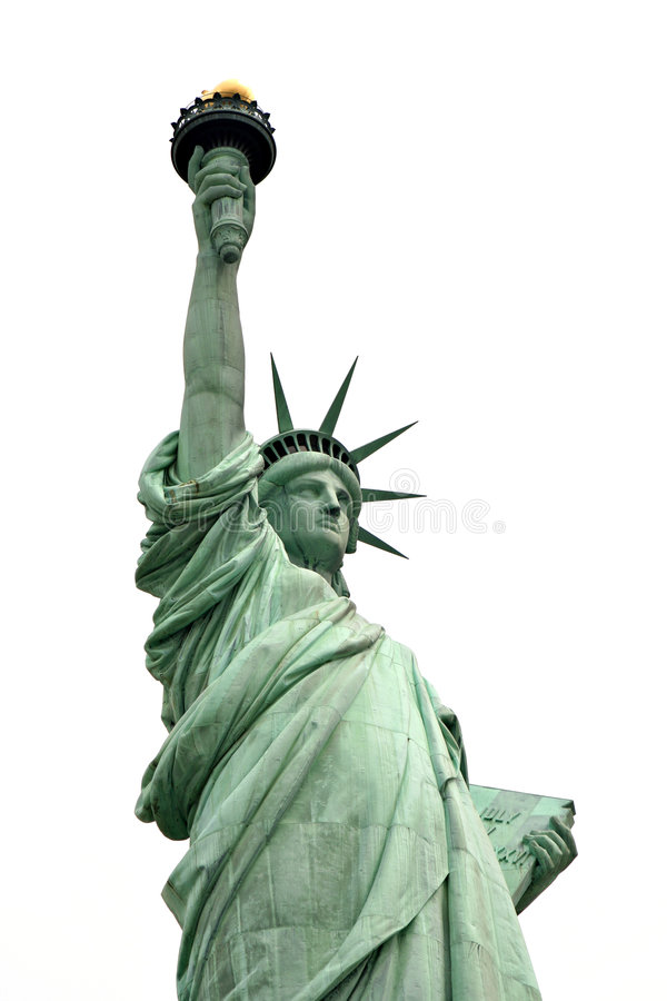 Señora Liberty imagen de archivo libre de regalías