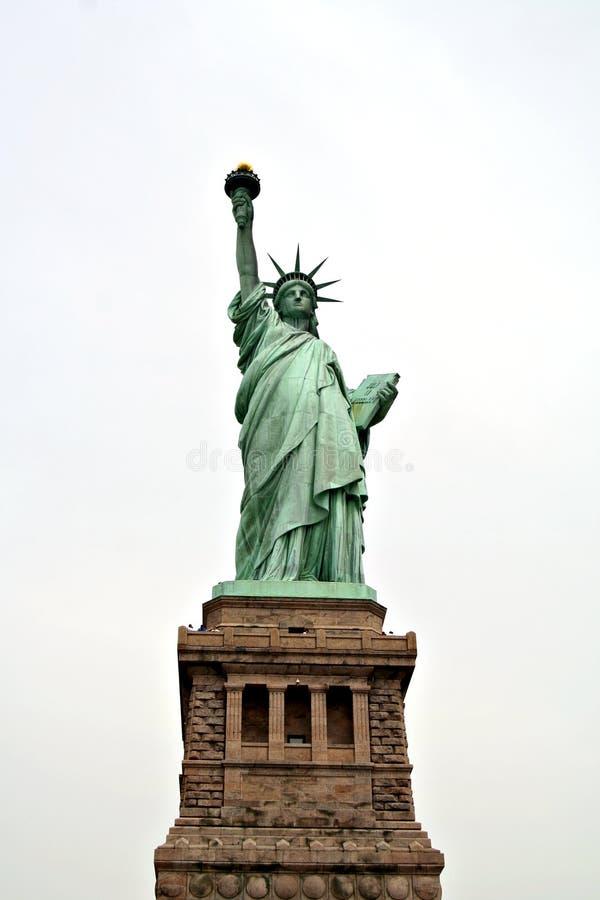 Señora Liberty imagenes de archivo