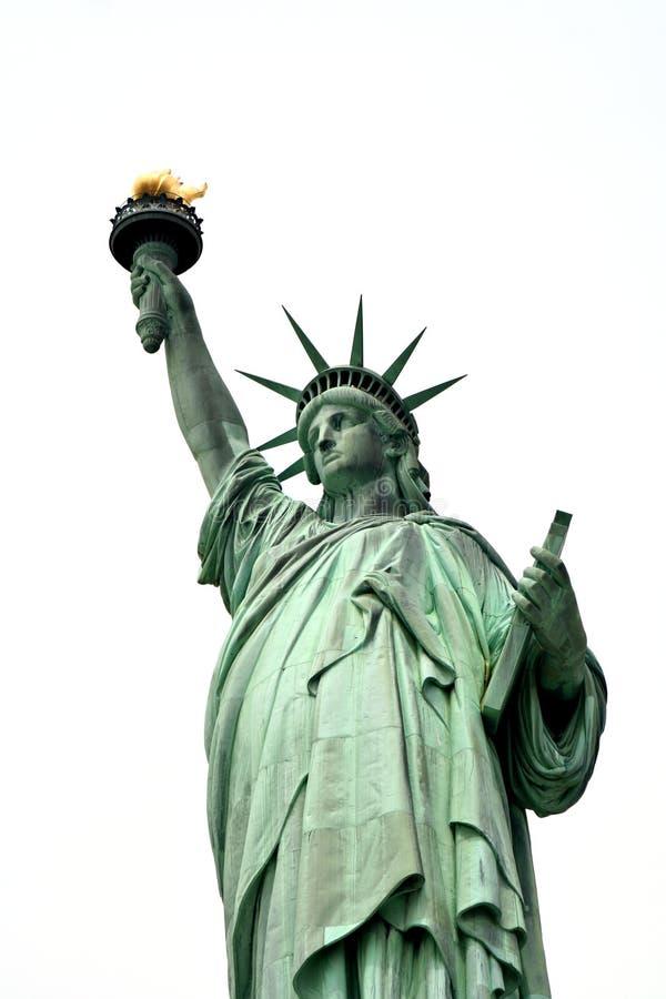 Señora Liberty foto de archivo