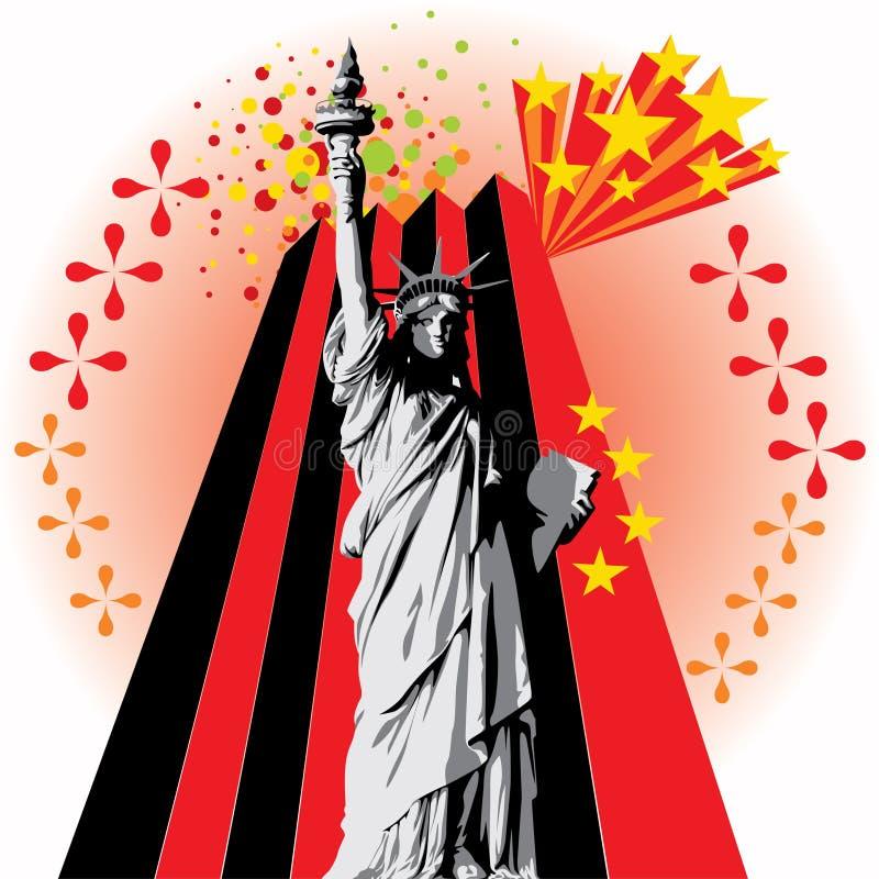 Señora Liberty libre illustration
