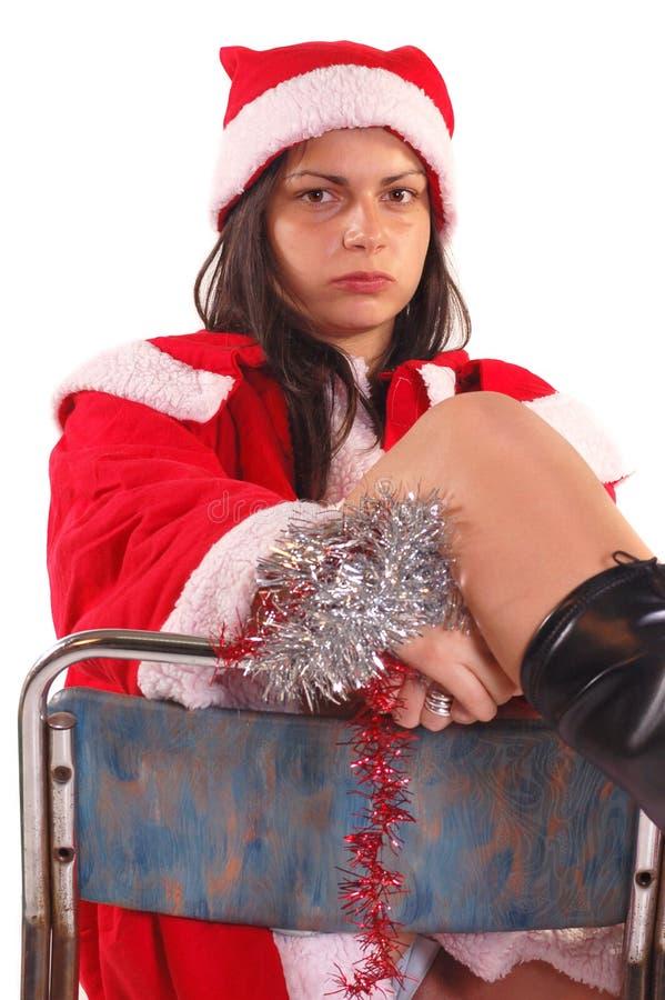 Señora Papá Noel foto de archivo libre de regalías