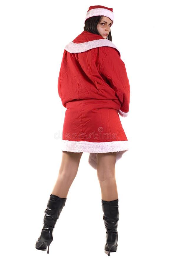 Señora Papá Noel fotos de archivo libres de regalías