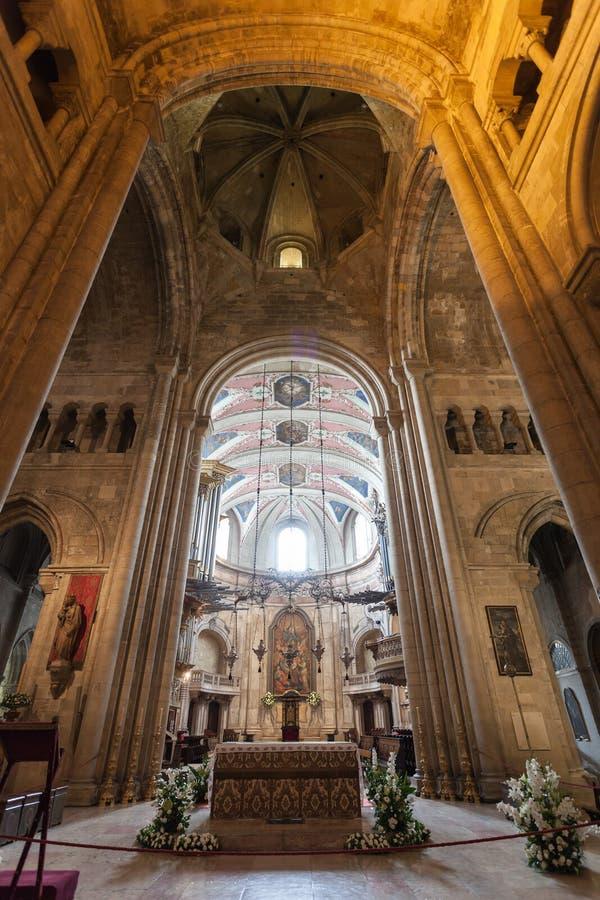 Se大教堂,里斯本 免版税库存照片
