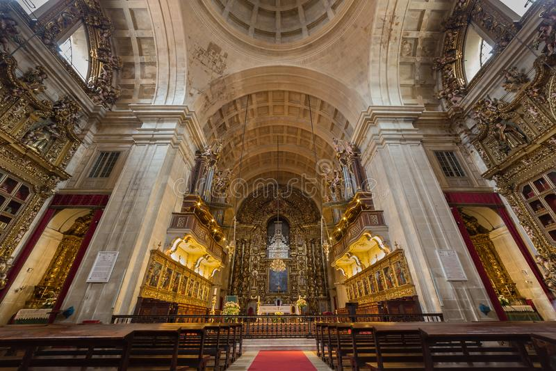 Se собора Порту делает Порту, Португалию стоковые фотографии rf