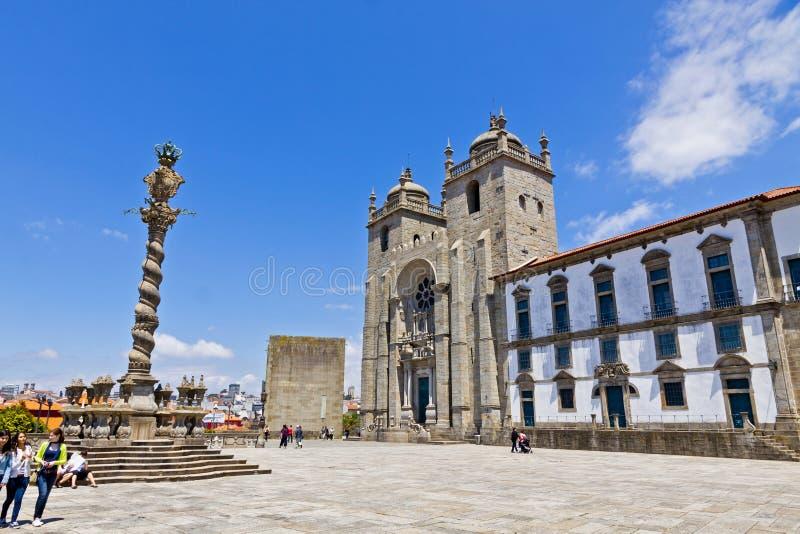 Se собора Порту делает Порту, Португалию стоковая фотография