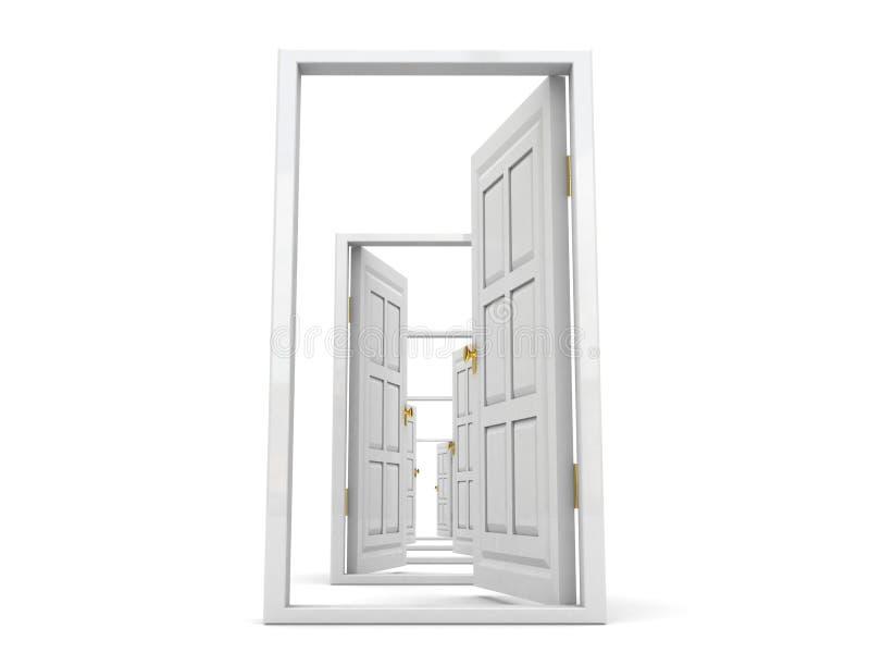 Se abren todas las puertas libre illustration