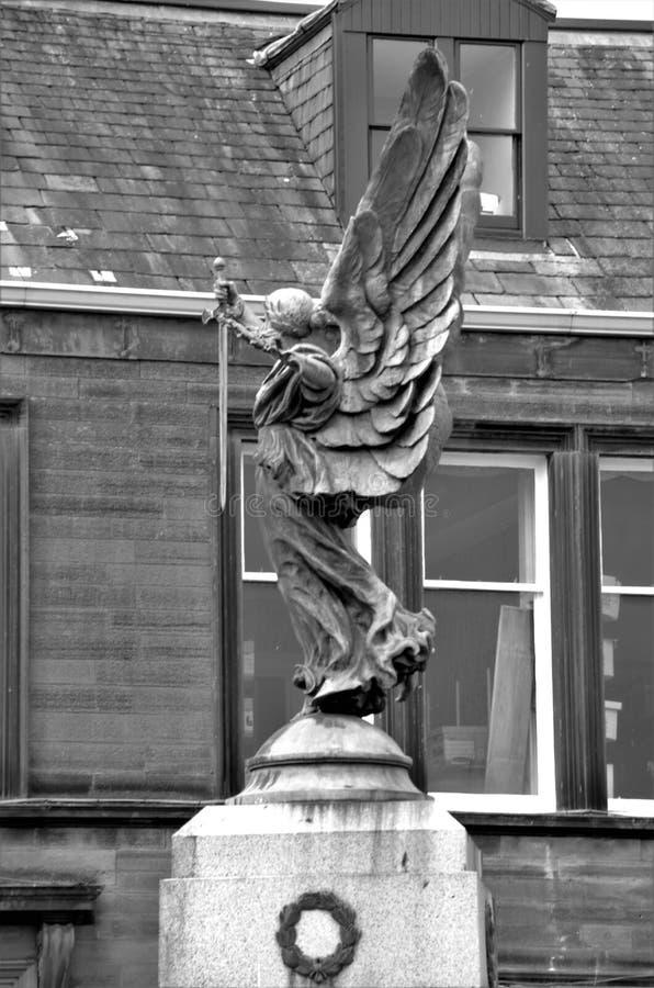 Se?ales del monumento de guerra de Escocia - de Lockerbie imagenes de archivo