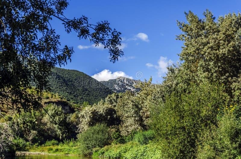 Download Se berget fotografering för bildbyråer. Bild av trän - 37348443