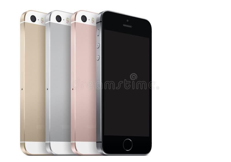 SE de Iphone imagem de stock