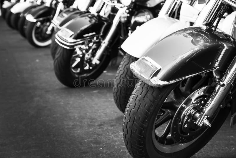 Se garer de motos photos libres de droits