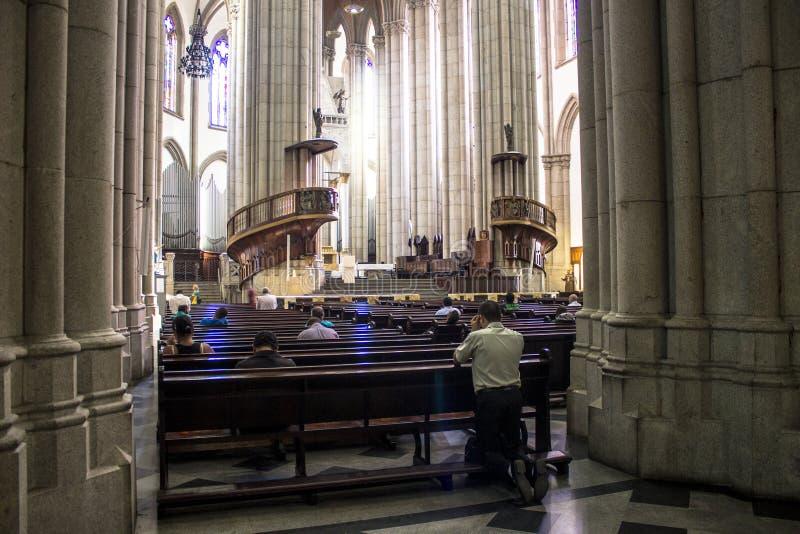 Se katedra fotografia stock