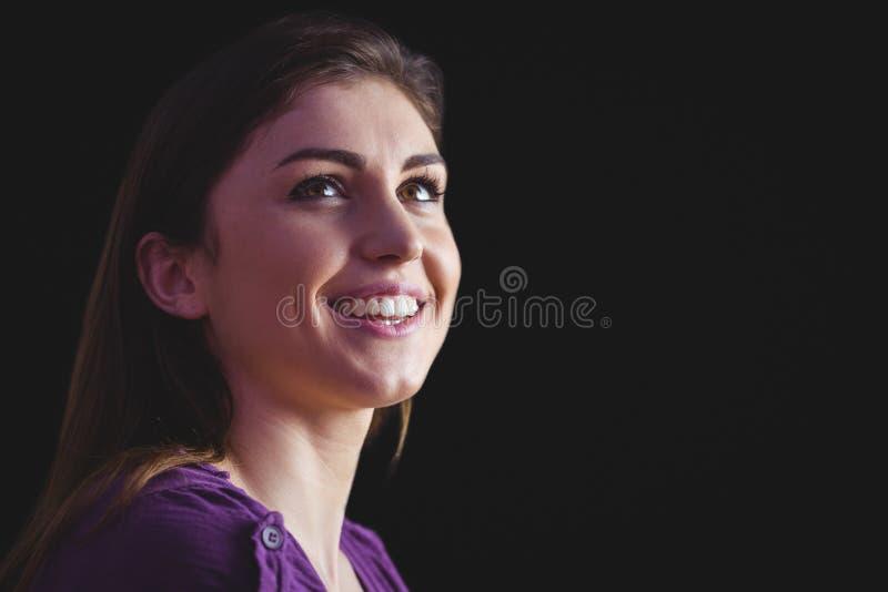 se le upp kvinna royaltyfri foto